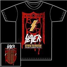 SLAYER - Dethrone the Demagogue - T-Shirts - black - Größe: L
