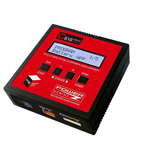 C610 LiPo Akku Gleichgewicht Ladegerät 120W 10A DC Ladegerät mit LiPo Batterie Widerstand Test Funktion für LiPo Li-Ionen LiFE NiCD NiMH Pb RC Batterie
