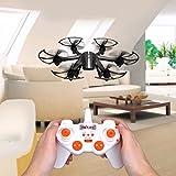 Cewaal Drone de Quadcopter de commande à distance de mini X800, projecteur coloré / roulement 3D / un retour de clé / contrôle de gravité / cadeau de vacances pour des débutants