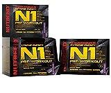 Nutrend N1 Schuss 10x17ml Grapefruit Aroma professionelle Körper Aufputschmittel als die sofortige Form von Pre-Workout fördern Muskelpump Beta-Alanin, Taurin AAKG Glucuronolactone Guarana Koffein Cholin DMAE