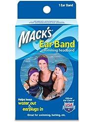 Mack's - Bandeau pour Piscine en Neoprene - Protège Oreille pour Enfant