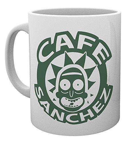 Rick And Morty Cafe Sanchez Tazas multicolor