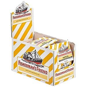 Fisherman's Friend Karton mit 24 Beuteln  Zuckerfrei für frischen Atem
