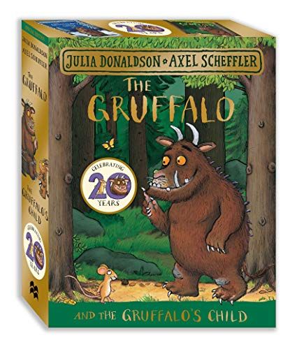 The Gruffalo and the Gruffalo's Child Board Book Gift Slipcase