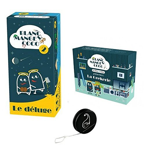 Pack Jeu Blanc Manger Coco 2 ' Le Déluge + Extension La Geekerie + 1 Yoyo Blumie