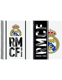 Real Madrid 511854065 2018 Funda de abonos de transporte 22 cm, Blanco