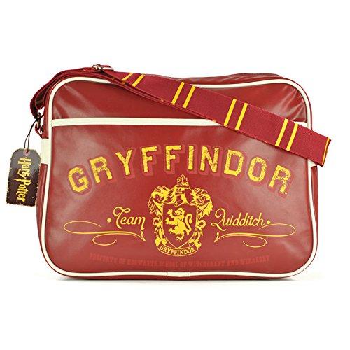 alltoshop Harry Potter Gryffindor Collegetasche - Harry Potter Schultertasche Umhängetasche Zauberei College Schultertasche