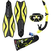 Gul Tarpon Mask/Snorkel and Fin Set