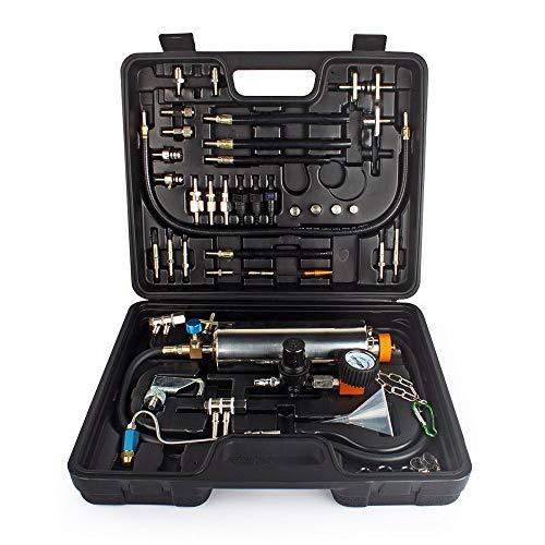 WISAMIC Automotive Non-dismantle Fuel Injector Cleaner Kit und Tester mit Etui für Benzin EFI Throttle Benzin Autos (Fuel Injector Cleaner Kit)