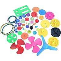 Royalr Engranaje de Rodadura de plástico Preparar Varias Clases de Engranaje Paquete de Coches de Juguete