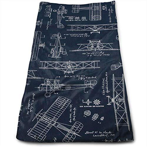 Funny Bag Luftfahrt Flieger Transport blau Badetücher für Bad Hotel-Spa-Kitchen-Set - Circlet ägyptische Baumwolle - sehr saugfähig Hotel-Qualität Handtücher - Frontgate-matte