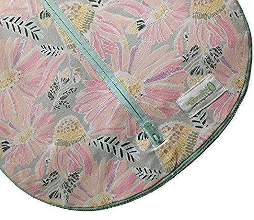 Woombie Grow With Me Swaddle – Saco de dormir para recién nacido de 5 etapas a 18 meses de 0 a 18 meses, diseño de flores silvestres
