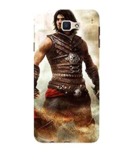 Samsung Galaxy On Nxt (2016) man factastic man man sword man with sword Designer Printed High Quality Smooth hard plastic Protective Mobile Case Back Pouch Cover by Paresha