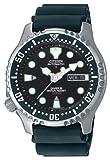 Citizen NY0040-09E - Reloj analógico automático para Hombre, Correa de Poliuretano Color Negro