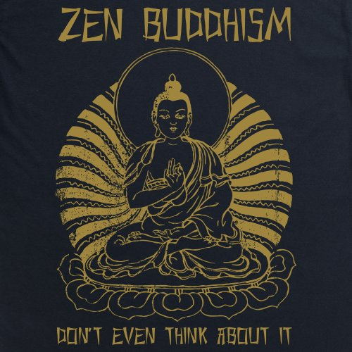 Zen T-Shirt, Herren Schwarz