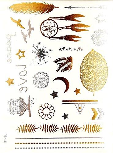 28-tatuajes-ephemeres-metalico-waterproof-tatoo-temporal-oro-bijou-de-piel-attrape-sueno-buho