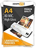 Best Laminating Pouches - Zoomyo A4 Laminating pouches   80 Micron Review
