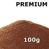 @tec Pigmentpulver, Eisenoxid, Oxidfarbe, Farbpulver Pigmentfarbe - Farbpigmente/Trockenfarbe für Beton + Wand - 100g (29,90€/Kg) Farbe: hellbraun