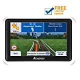 sat nav gps,AONEREX 7-inch HD capacitive screen voice navigation system, 256MB-8GB Car GPS