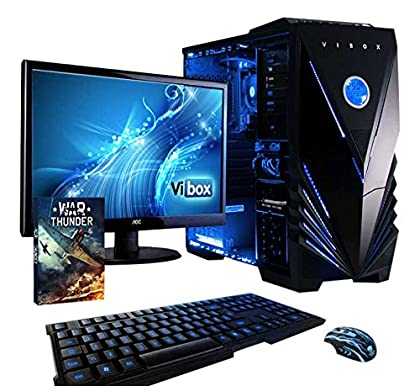 Vibox Standard 3W - Ordenador de sobremesa (AMD...