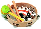 Gitre 3001 Paire de Claves en 4 autres Rhythmical et des Instruments de Percussion Kit de l\'emballage