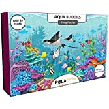 [Sponsored]Pola Puzzles Aqua Buddies Tiling Puzzles 60 Pieces For Kids Age 5 Years And Above Multi Color Size 36CM X 21CM Jigsaw Puzzles For Kids
