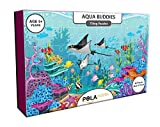 #5: Pola Puzzles Aqua Buddies Tiling Puzzles 60 Pieces For Kids Age 5 years and above Multi Color Size 36CM X 21CM Jigsaw Puzzles for Kids