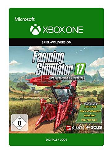 Farming Simulator 17 - Platinum Edition | Xbox One - Download - X-box Simulator Farming