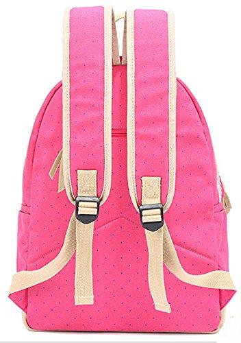 Longzibog Dual verstellbare Schultergurte und Hängeschlaufenband 2016 Neue Damen accessories hohe Qualität Einfache Tasche Schultertasche Freizeitrucksack Tasche Rucksäcke Tiefblau