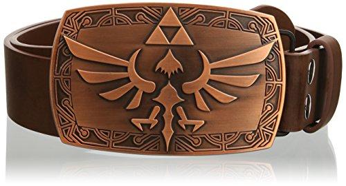 Preisvergleich Produktbild Unbekannt Nintendo Gürtel -XL- Zelda Patina(Gürtel+Schnalle)