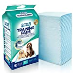Pack of 50 Puppy Dog Toilet Training Pads - Highly Absorbent Mats to protect your Floor, Carpets and Furniture (Small…