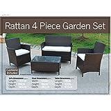 Garden Furniture Set Table Chair and Sofa RATTAN Conservatory, Patio Garden