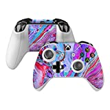 Marbled Lustre Skin Decal Compatible with Microsoft Xbox One and One S Controller - Full Cover Wrap for Extra Grip and Protection