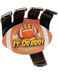 It Grabs Sportball Halter - Rugby - Schwarz - hand claw - Ball Halter