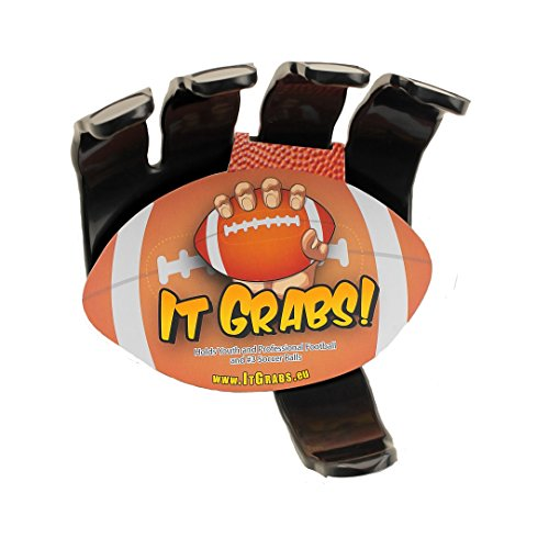 It Grabs, soporte balones rugby - hand claw - Negro