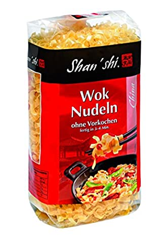 Shan'Shi Woknudeln, 10er Pack (10 x 250 g) (Thai Nudeln)