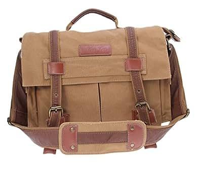 Aokeshen un jaune grisatre sac toile d'épaule pour caméra appareils photo reflex bag for SLR camera