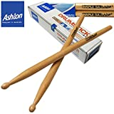 #5: Ashton (Australia) Drum Sticks (Value Pack) Buy 1 Pair Get 1 Pair.. 5A