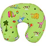 Baby Grow Nursing Pillow With Slipcover Cotton Feeding Pillow And Positioner With Baby Printed Slipcover Baby Feeding Pillow For Mother (Green Snoopy)
