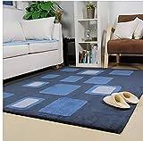 CarPET Flashing- Modernes unbedeutendes Wohnzimmer Couchtisch Schlafzimmer Teppichfliese Foyer Nachtmatten Dicke Hand Europäische (größe : 2000mm*3000mm)