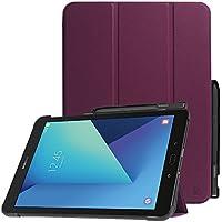 Fintie Funda para Galaxy Tab S3 9.7 con Soporte Incorporado de S Pen - Súper Delgada y Ligera Carcasa con Función de Soporte y Auto- Reposo/Activación para Modelo de SM-T820/T825, Púrpura