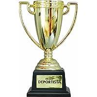 Framan Copa Trofeo con Mensajes para Ocasiones Especiales, Ideal como Regalo Original Y ECONÓMICO. Mensaje Mejor Deportista
