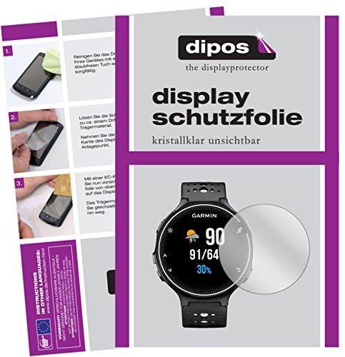 dipos I 6X Schutzfolie klar passend für Garmin Forerunner 230 Folie Bildschirmschutzfolie