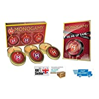 Monogamy Massage Candles 3 Pack & Tie Me Up Tape