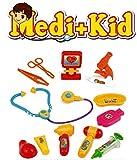 #10: Pacificdeals Medi + Kid Doctor Set For Kids (Age 3+) - Multi Colour