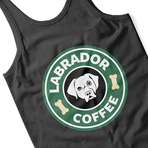 Labrador Coffee Starbucks Women's Vest Black
