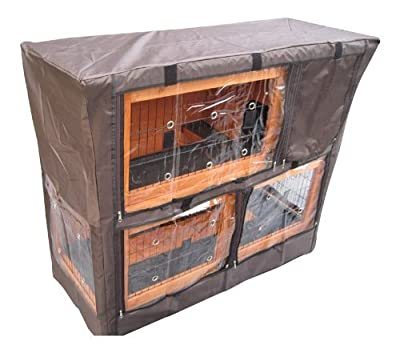 Bunny Business Hutch Cover for Double Decker Hutch