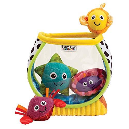 Lamaze Babyspielzeug Mein erstes Aquarium mehrfarbig - hochwertiges Kleinkindspielzeug - Lernspielzeug - fördert Tastsinn und Sehvermögen Ihres Kindes - ab 6 Monate