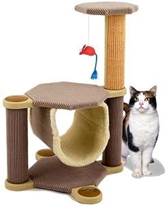 Cleo Oregon Cat Post/Climber, Scratcher, Scratching Post [4 Colours]