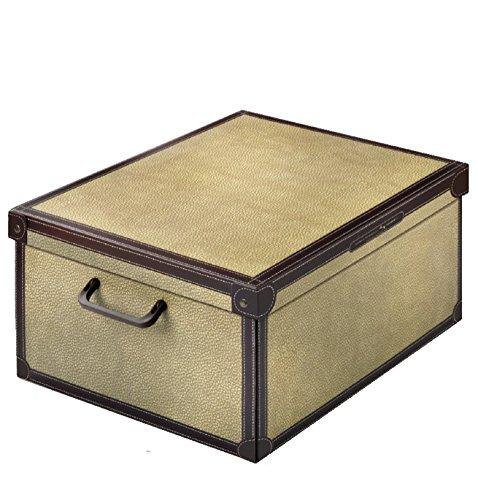 Caja de almacenamiento práctico y decorativo con mango y tapa tapirus